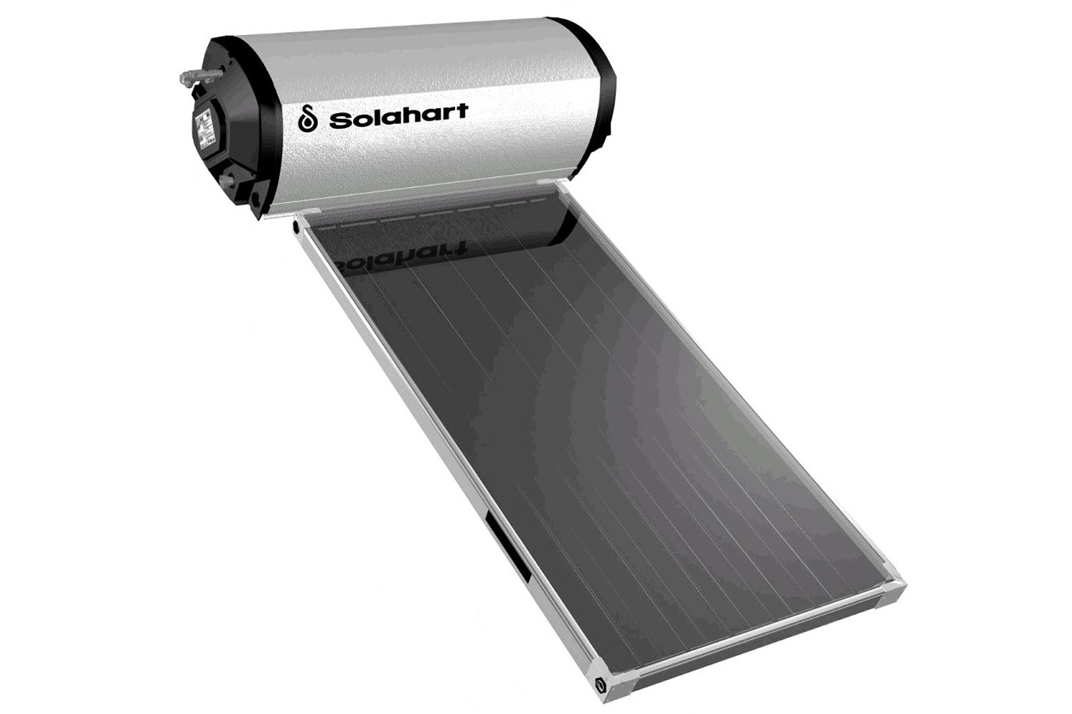 Solahart Roof Top Solar Hot Water System Diagram Of An Active Pumped Heating 181l180lt